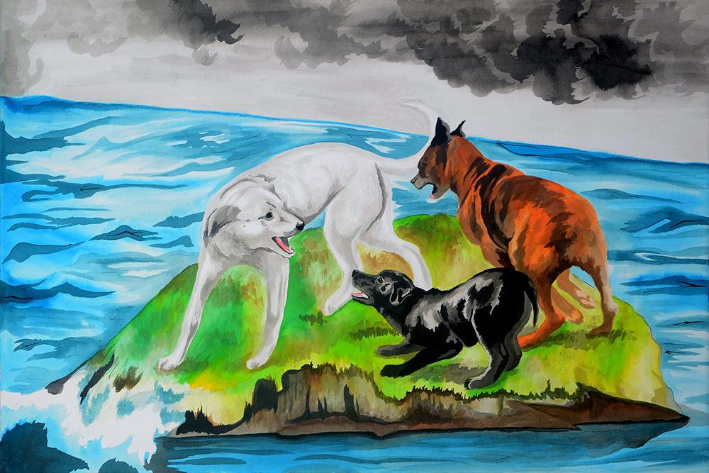 art by Jenie Gao