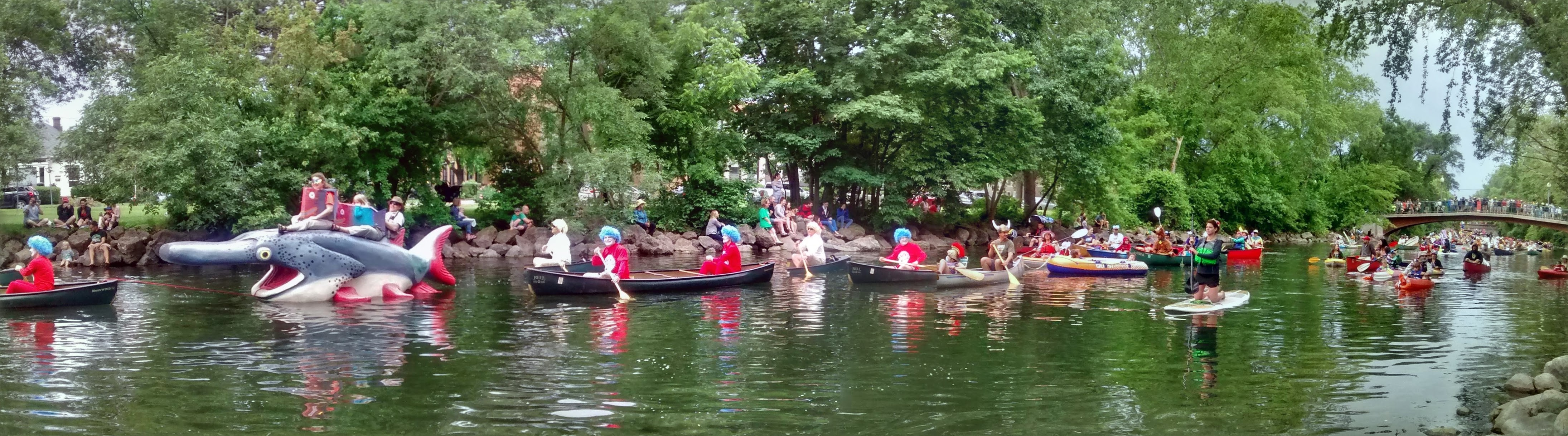 The Fool's Flotilla in Madison. Madison, you're a goofy city, and I love it.