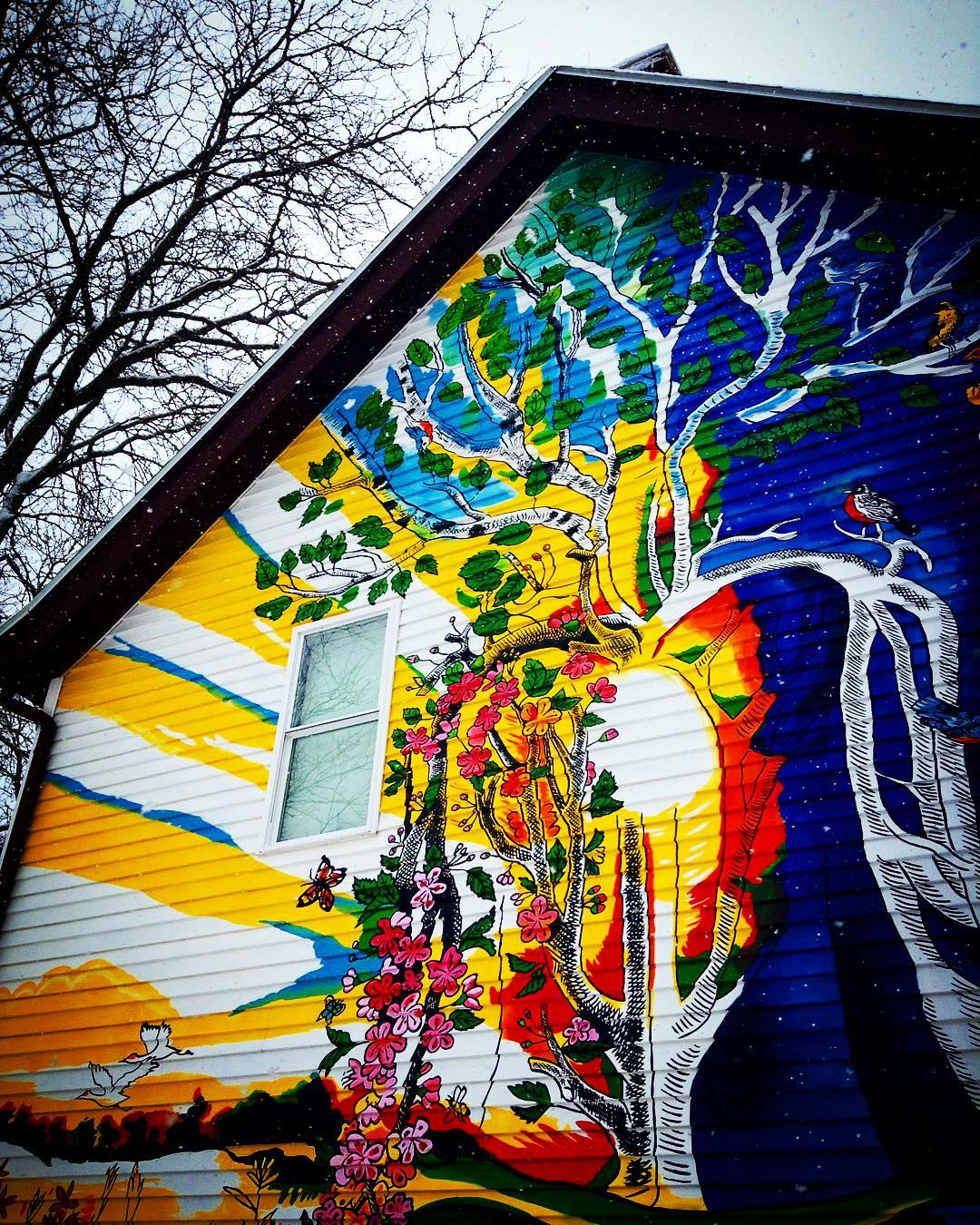Rest and Rejuvenation Mural Commission for Mary Burke